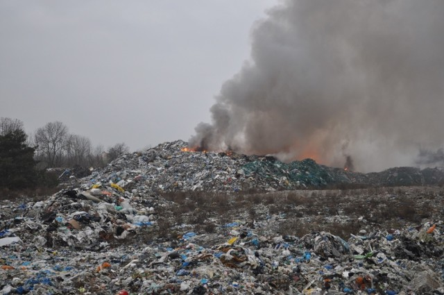 Od ubiegłego tygodnia trwa akcja gaszenia pożaru, który wybuchł na składowisku odpadów w Pyszącej pod Śremem. Z ogniem walczy na miejscu ponad 30 strażaków, ale wciąż nie udaje się go ugasić. Wydano komunikat z ostrzeżeniem dla mieszkańców, aby omijać rejon sołectwa Binkowo. Zobacz zdjęcia ----->