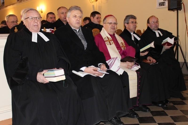 Nabożeństwo ekumeniczne w Lasowicach Wielkich