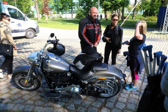 Jacek Sutryk na motorze może wjeżdżać gdzie chce