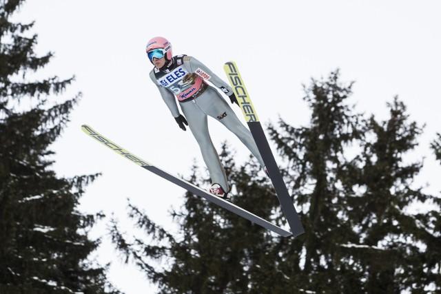 Dawid Kubacki zajął czwarte miejsce w kwalifikacjach do sobotniego konkursu.
