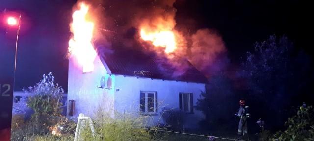 Pożar w Szydlicach
