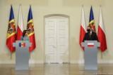 """Spotkanie prezydentów Polski i Mołdawii. """"Konieczne zachowanie integralności terytorialnej Mołdawii w międzynarodowo uznanych granicach"""""""