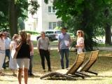 Rozpoczął się odbiór techniczny po remoncie Parku Miejskiego w Sandomierzu. Urzędnicy mają sporo  zastrzeżeń do wykonawcy. Jakich? [FOTO]