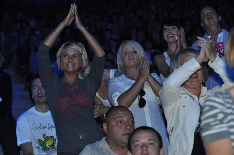 Tako opolska publiczność bawiła się podczas festiwalu w tym roku. Czy podobnie będzie podczas festiwalu Opole 2012?