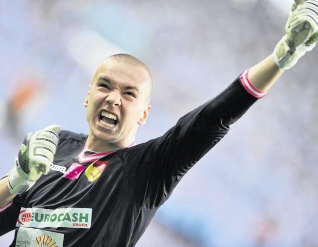 Grzegorz Sandomierski największe sukcesy odnosił w rodzinnym Białymstoku, grając w Jagiellonii. Teraz na Podlasie przyjedzie z Zawiszą Bydgoszcz, w której obecnie występuje.