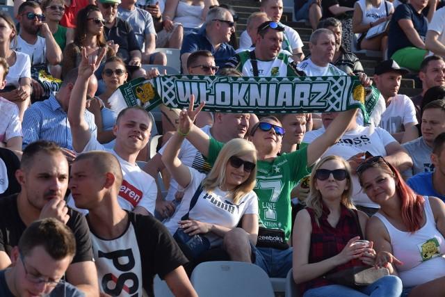 Zdjęcia kibiców na mecz forBET Włókniarz Częstochowa - Stelmet Falubaz Zielona Góra
