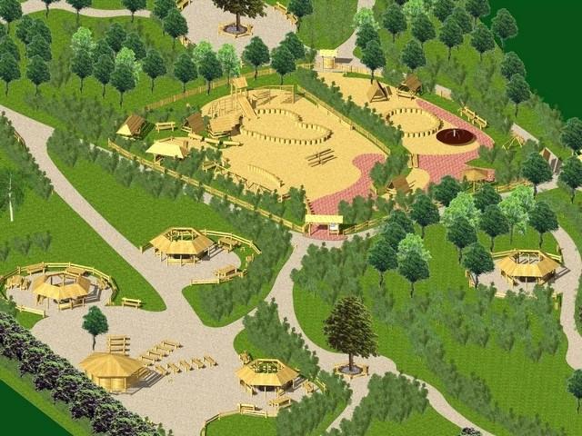 Nowy park w Szczecinie przy ul. Kutrzeby