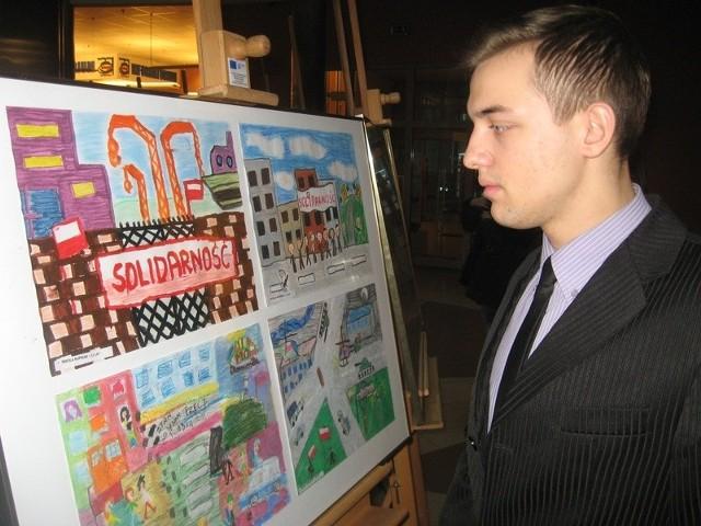 Mateusz Muchel to jeden z laureatów konkursu literackiego