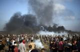 Zamieszki na granicy Strefy Gazy: 25-letni Ahmed Yagi zastrzelony przez izraelskiego snajpera. Są setki rannych [VIDEO] [ZDJĘCIA]