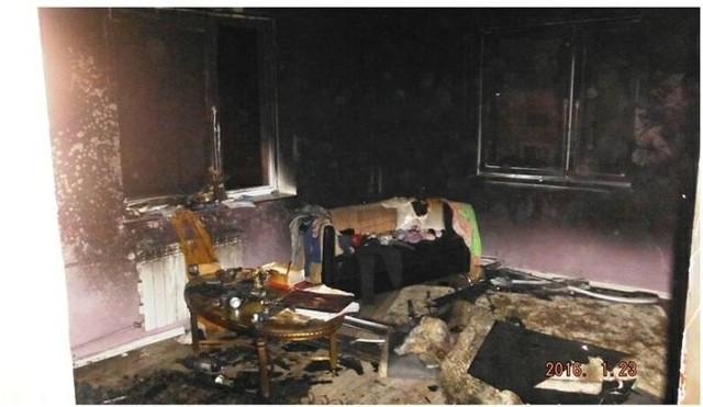 Mieszkanie, w którym od kilku miesięcy żyła Iwona K. spłonęło na początku 2016 roku. Potem nikt jej tam już nie widział