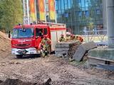Akcja strażaków na Dworcu Głównym w Poznaniu. Co się stało? Czy to pożar? Nie, to tylko ćwiczenia