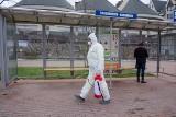Koronawirus. Na ulicach Tarnowa codziennie pracują ekipy dezynfekujące [ZDJĘCIA]