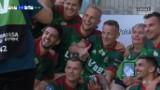 Cieszynka sezonu? Piłkarze Śląska Wrocław świętowali bramkę z legendarną fotoreporterką [WIDEO]