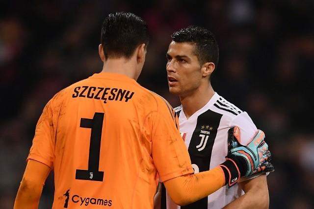 Szczęsny i Ronaldo