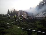 Niepołomice. Groźny pożar na ul. Batorego