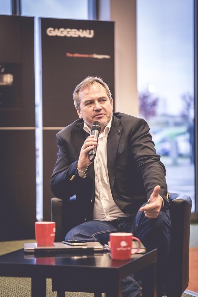 Jacek Szklarek, prezes Slow Food Polska: Jedzenie to nie tankowanie samochodu