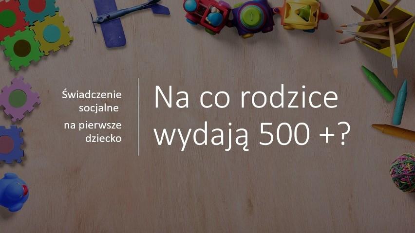 Polacy korzystający z programu 500+ na pierwsze dziecko,...