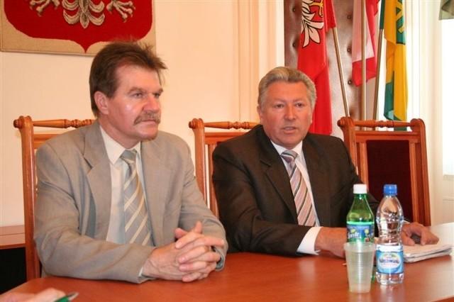 - Dni Ostrowi były udane - twierdzi burmistrz Mieczysław Szymalski (z prawej)