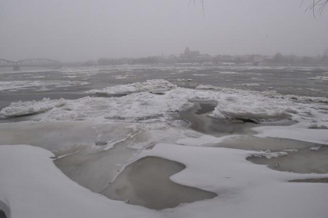 Zima w Toruniu ponownie dała się we znaki