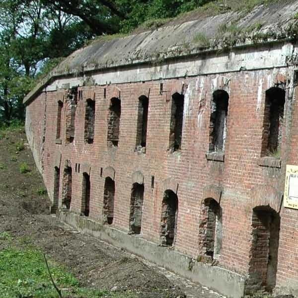 Fort Borek, jedno z umocnień Twierdzy Przemyśl.