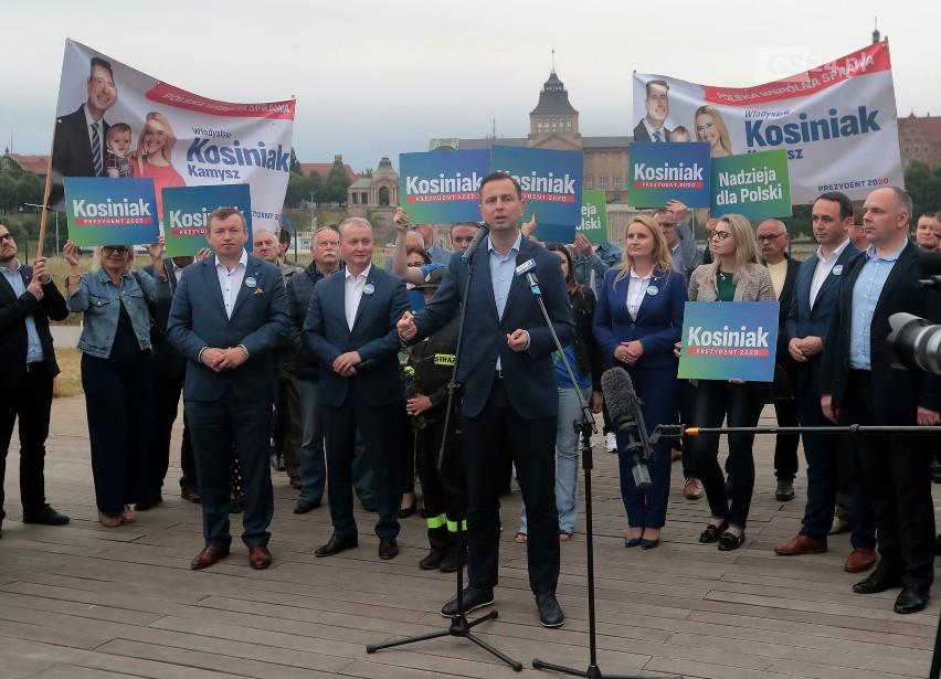 Kosiniak-Kamysz w Szczecinie