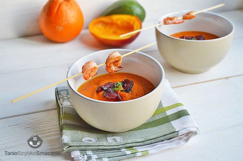 Przepis Na Egzotyczną Zupę Z Mango Marchewki I Z Krewetkami