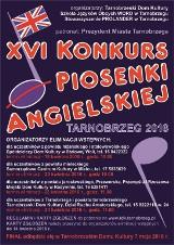 Rusza XVI Konkurs Piosenki Angielskiej w Tarnobrzegu