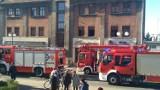 Krotoszyn: Pożar wózka dziecięcego na ul. Floriańskiej. 18 osób ewakuowanych, czwórka dzieci trafiła do szpitala. Sprawcą 13-latek [ZDJĘCIA]