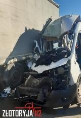 Śmiertelny wypadek na autostradzie A4. Służby nie mogły dojechać, bo nie było korytarza życia [FILM]