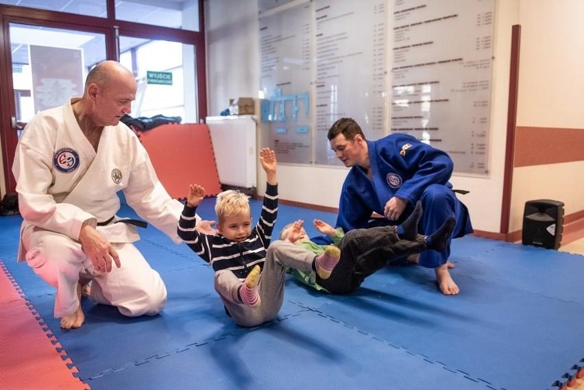 Szpitalne Zawody Judo, które po raz pierwszy odbyły się w...