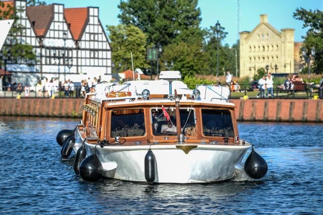 Nowa atrakcja Gdańska czyli zabytkowa łódź z 1975r.