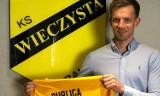 Były piłkarz Wisły Kraków Łukasz Burliga już w koszulce Wieczystej Kraków. Tak się prezentował w żółto-czarnych barwach
