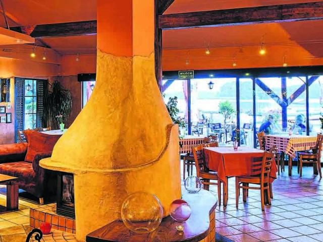 Urządzone ze smakiem wnętrza restauracji Jolka