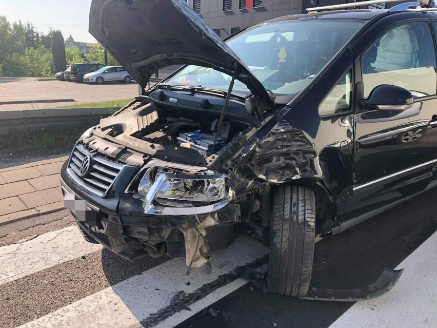 Wypadek w Piątnicy