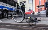 Gostyń: Policjant potrącił na pasach rowerzystę. Nadal jest kilka niewiadomych