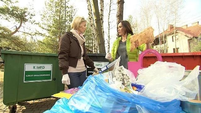 Anna Nowak-Ibisz radzi jak segregować śmieciJak segregować odpady? (WIDEO)