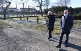Stargard zdobyty czy wyzwolony? Minęło 76 lat. Symbolicznie na cmentarzu wojennym. ZDJĘCIA