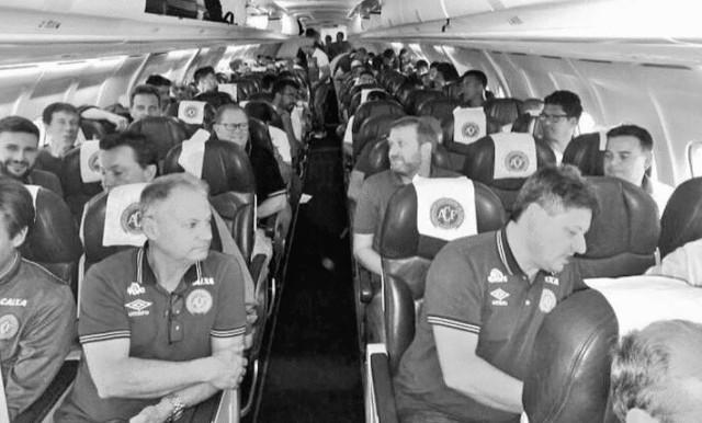 Piłkarze Chapecoense podróżowali na finał Copa Sudamericana