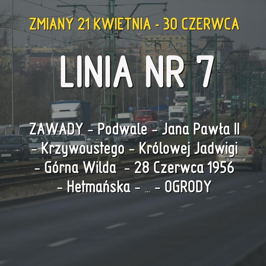 Służby MPK Poznań będą naprawiać ponad kilometrowy odcinek...