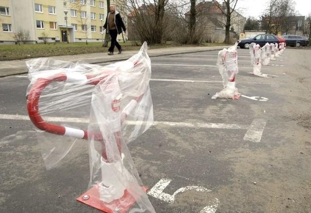 Komercyjny parking przy ul. Bogusława X.
