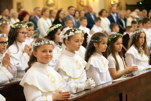Uroczystości pierwszokomunijne w bydgoskich parafiach odbywają się od początku maja aż do września