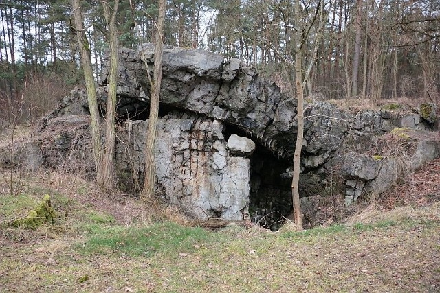 Na szczycie Lisiej Góry wita mnie malownicze morze ruin. Ielu poszukiwaczy skarbów jest przekonanych, że właśnie tutaj pod koniec drugiej wojny Niemcy ukryli Bursztynową komnatę.