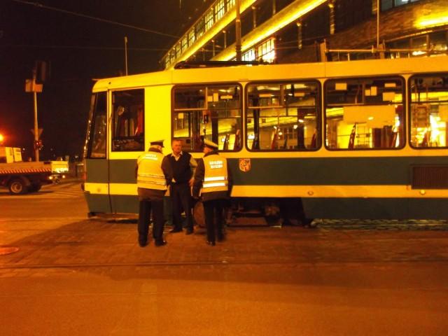 Wykolejenie tramwaju Renoma