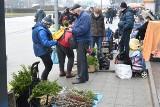 Kieleckie bazary we wtorek 30 marca. Przed Wielkanocą na zakupach mnóstwo ludzi. Co szło najlepiej? [ZDJĘCIA]