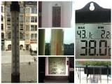 We Wrocławiu padł rekord ciepła: 38,9 stopni Celsjusza