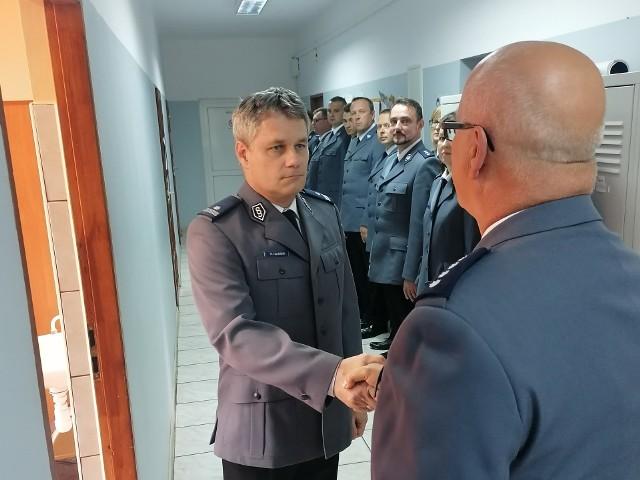 Zmiana na stanowisku komendanta w Myszyńcu