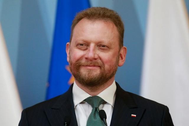 Był minister zdrowia Łukasz Szumowski