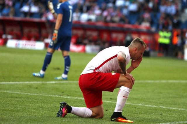 Kamil Grosicki doznał kontuzji w meczu z Litwą