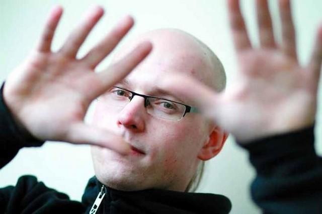 Jędrzej Dondziło, DJ Dtekk, organizator festiwalu Białystok Up to Date