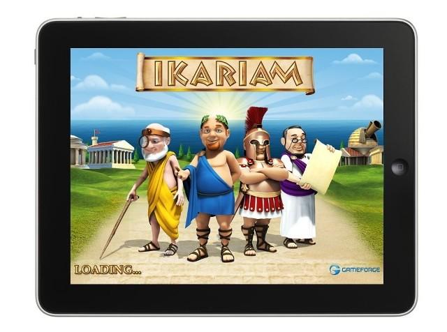 IkariamPopularna gra przeglądarkowa Ikariam trafiła właśnie na tablety